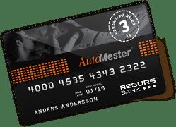 automester konto kort